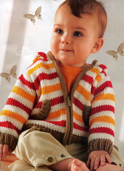 Фото мальчика с вязанием