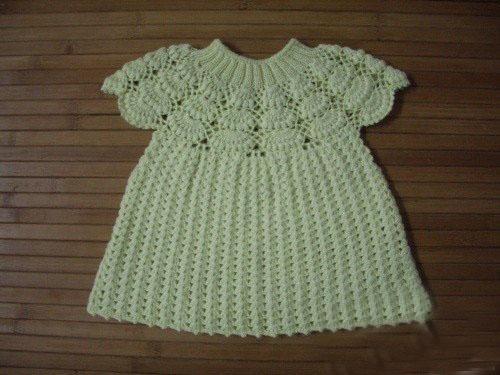 Схемы для вязания крючком платья на годик